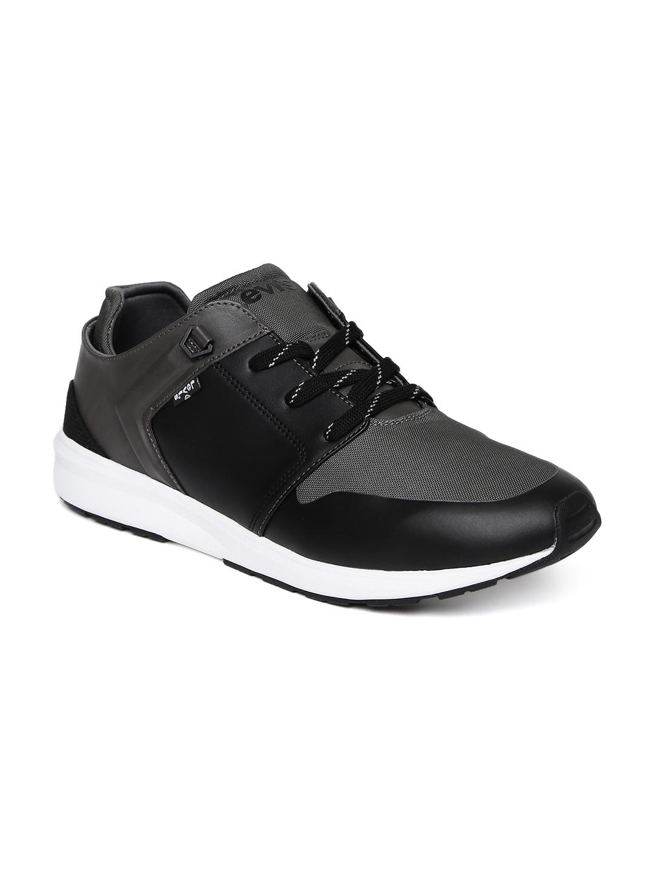 Buy Levis Men Black \u0026 Charcoal Grey