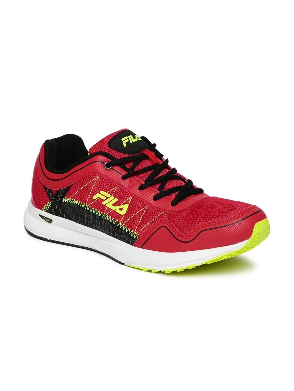 fila running shoes for girls. fila men red synthetic mid-top z-speed running shoes fila for girls s