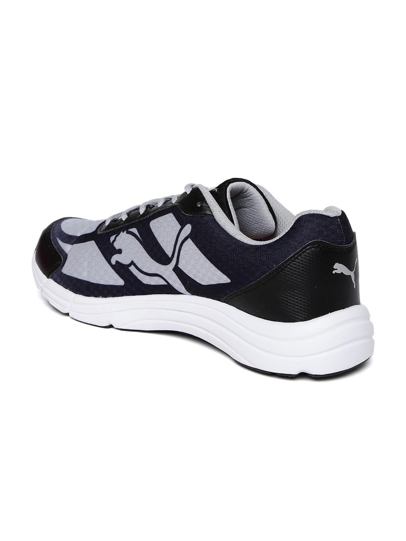 2f4847d762eead Buy Puma Men Grey   Navy Expedite IDP Running Shoes - Sports Shoes ...