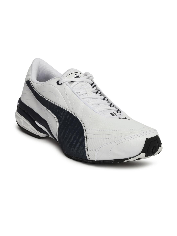 93ce2cc6a79df4 Buy Puma Men White Tazon III DP Running Shoes - Sports Shoes for Men ...