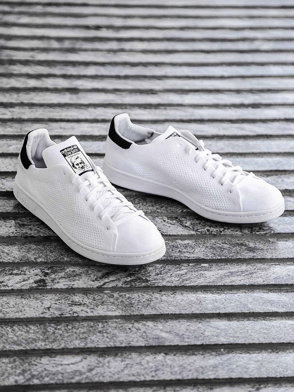 b156b019bff Buy ADIDAS Originals Men White STAN SMITH Prime Knit Sneakers ...
