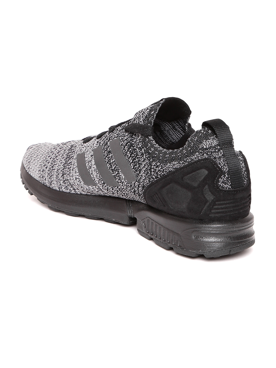 88f1388e3 Buy ADIDAS Originals Men Grey ZX FLUX Prime Knit Sneakers - Casual ...