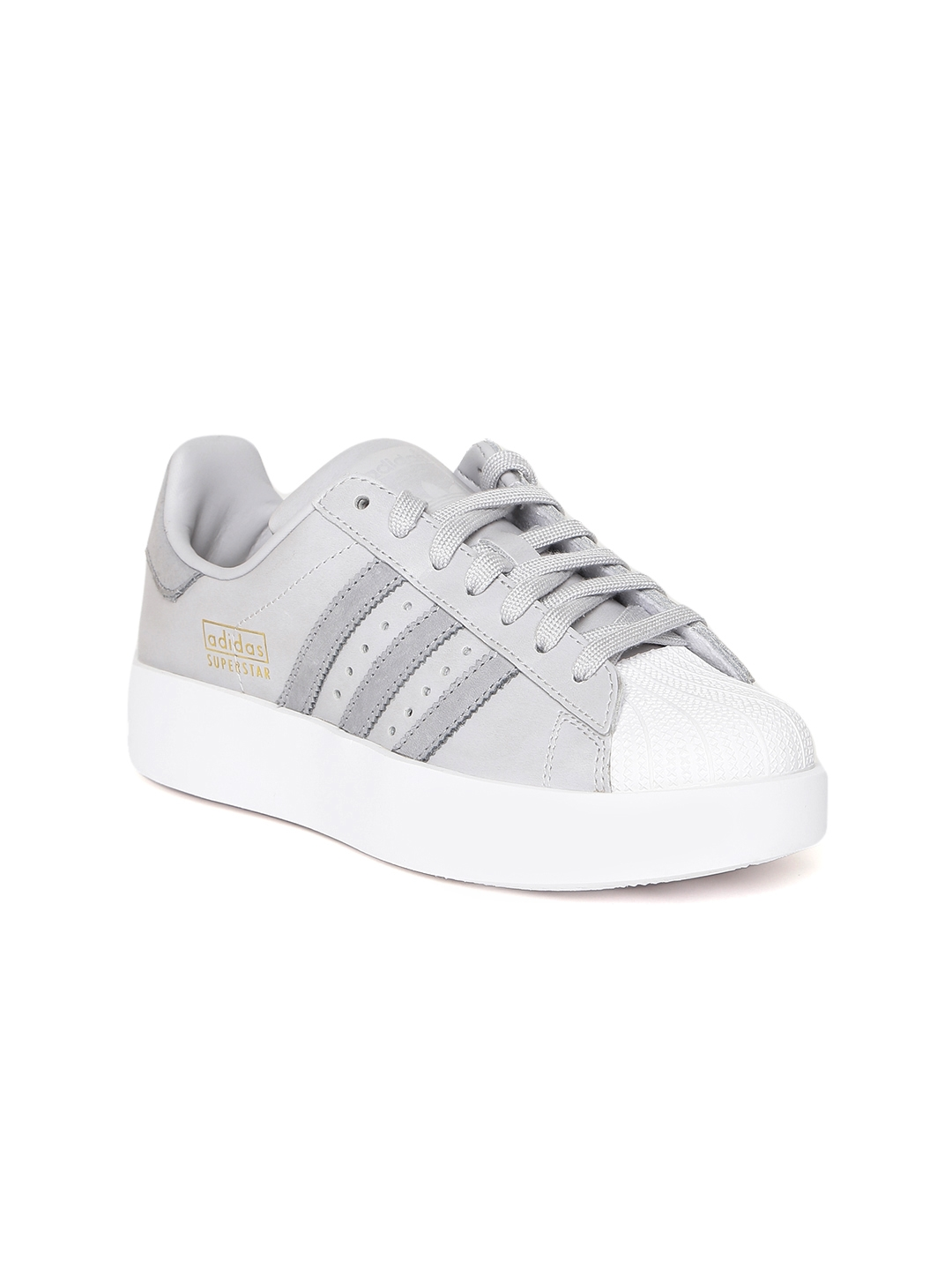 79e455fd2cf9 Buy ADIDAS Originals Women Grey SUPERSTAR BOLD Sneakers - Casual ...