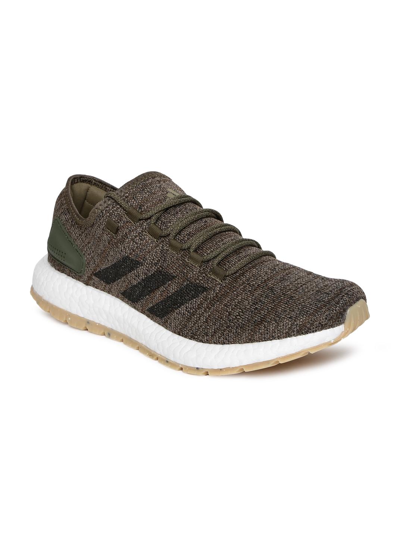 f5c6757fc64 Buy ADIDAS Men Olive Green PUREBOOST ALL TERRAIN Running Shoes ...