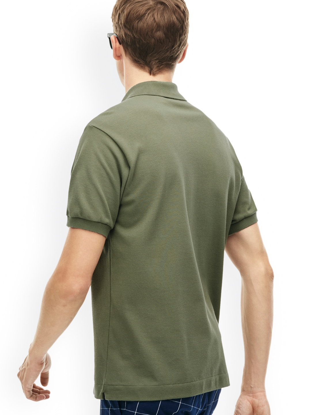 7eacbe6a0b99 Buy Lacoste Men Olive Green L.12.12 Polo - Tshirts for Men 2047872 ...