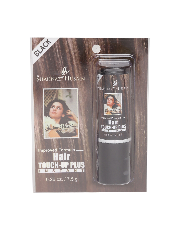 7283310c81f8b Buy Shahnaz Husain Unisex Black Instant Hair Touch Up Plus 7.5 G ...
