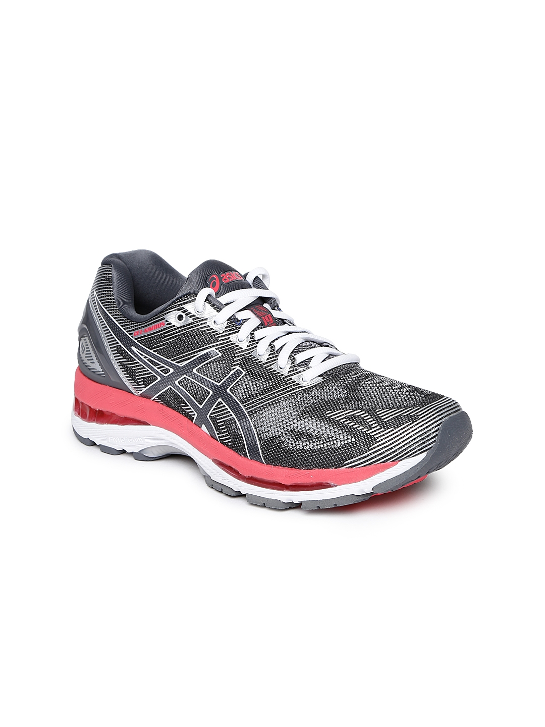 ed024ef4acde Buy ASICS Women Grey GEL NIMBUS 19 Running Shoes - Sports Shoes for ...