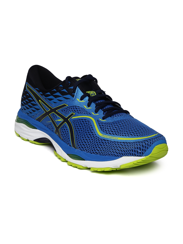 05b8d461 Buy ASICS Men Blue GEL CUMULUS 19 Running Shoes - Sports Shoes for ...