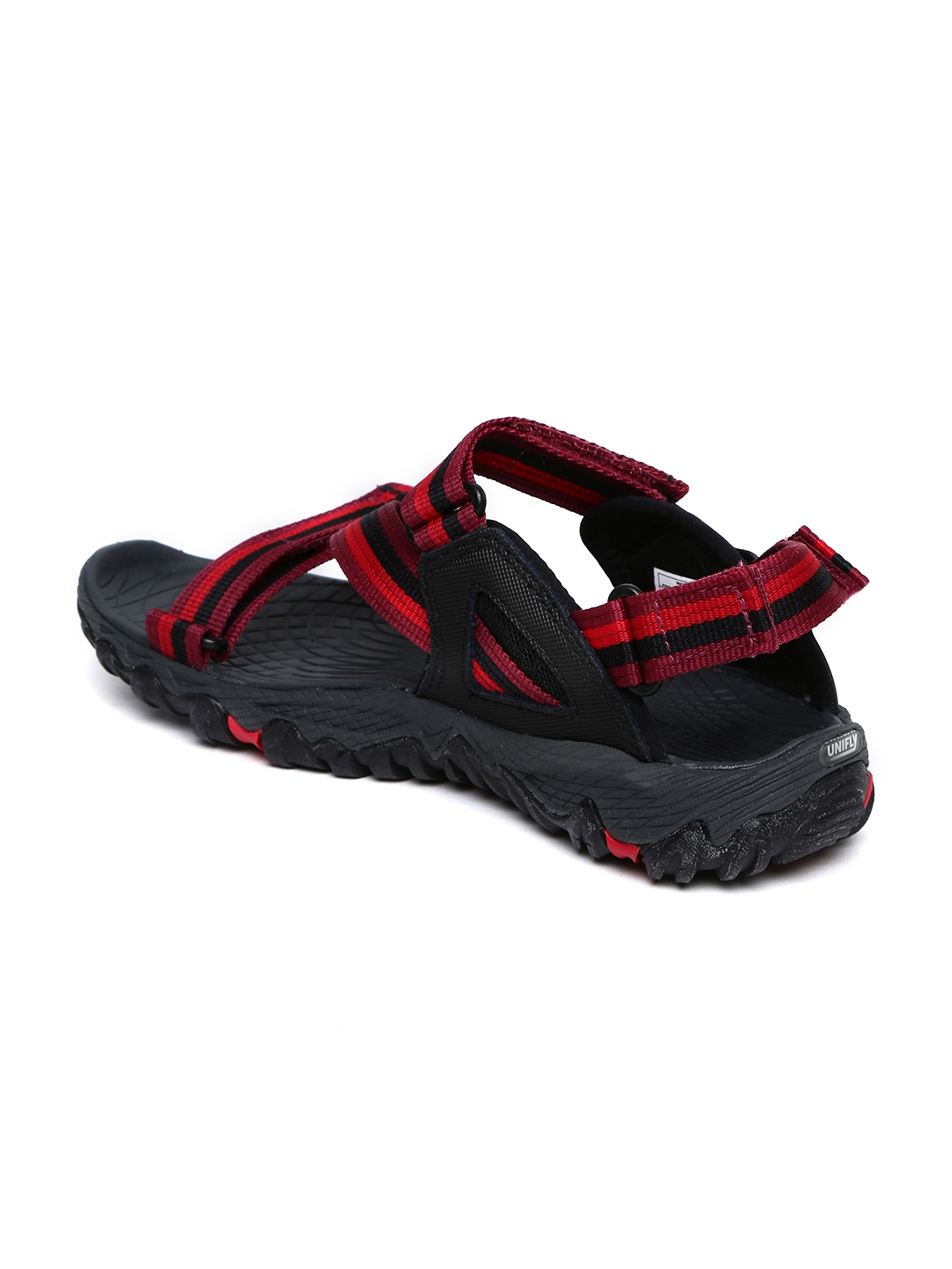 f80a9775d8f Buy Merrell Women Red   Black All Out Blaze Web Sports Sandals ...
