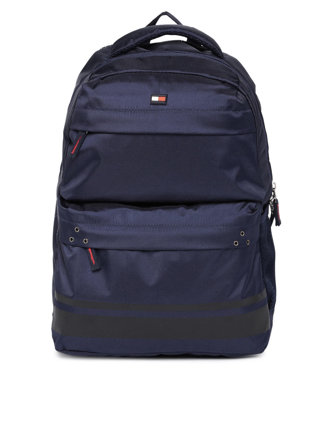 4a4e76cc88f Buy Tommy Hilfiger Unisex Navy Blue Solid Laptop Backpack ...