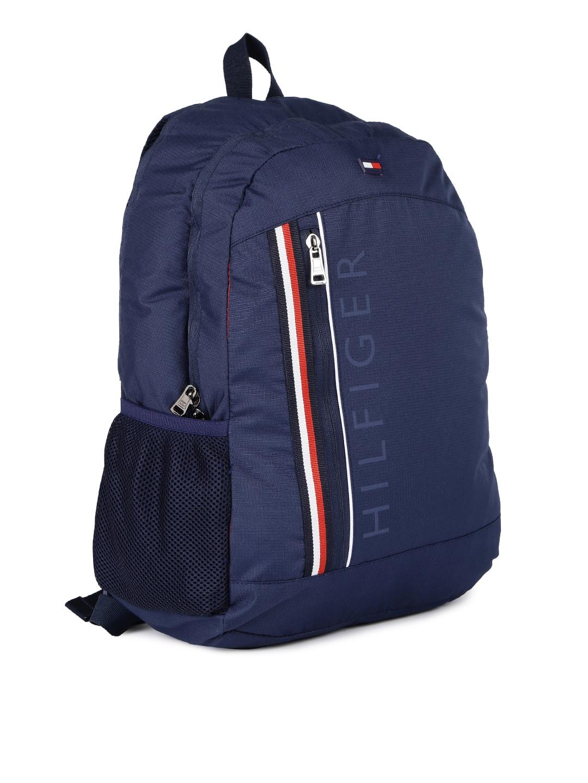 5fec1d05ec4 Buy Tommy Hilfiger Unisex Navy Laptop Backpack - Backpacks for ...