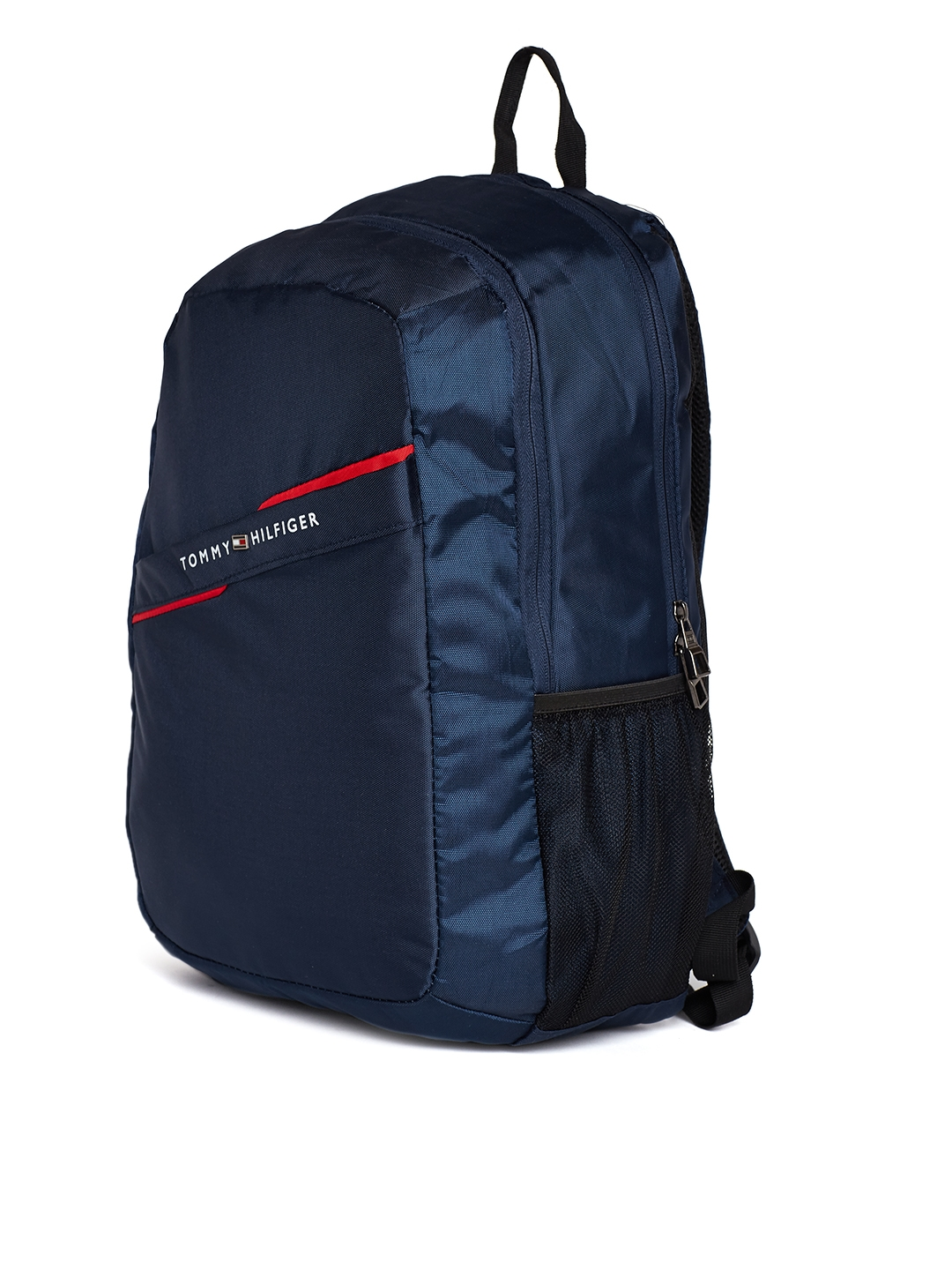 6dcf0e64669 Buy Tommy Hilfiger Unisex Navy Blue Solid Laptop Backpack ...