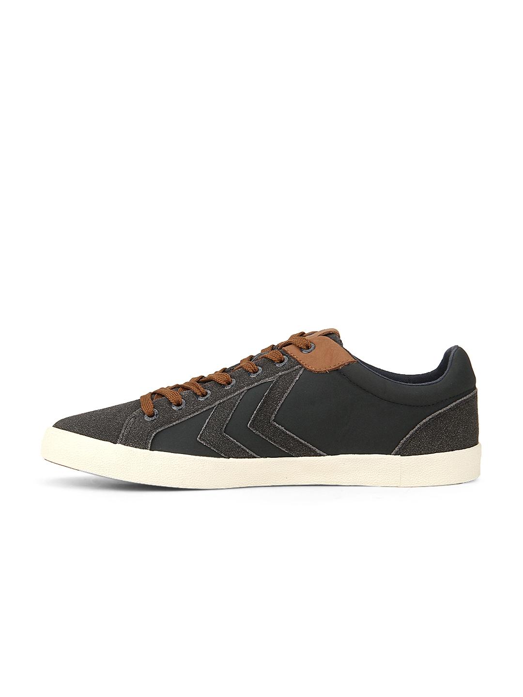 separation shoes af18c 04fce Buy Hummel Unisex Charcoal Grey Suede Deuce Court Winter ...