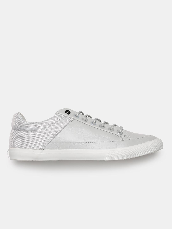 72ff4bb37e95 Buy Roadster Men Grey Sneakers - Casual Shoes for Men 2057270