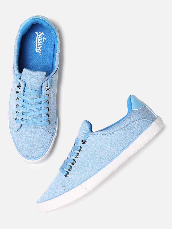 Buy Roadster Men Blue Sneakers - Casual
