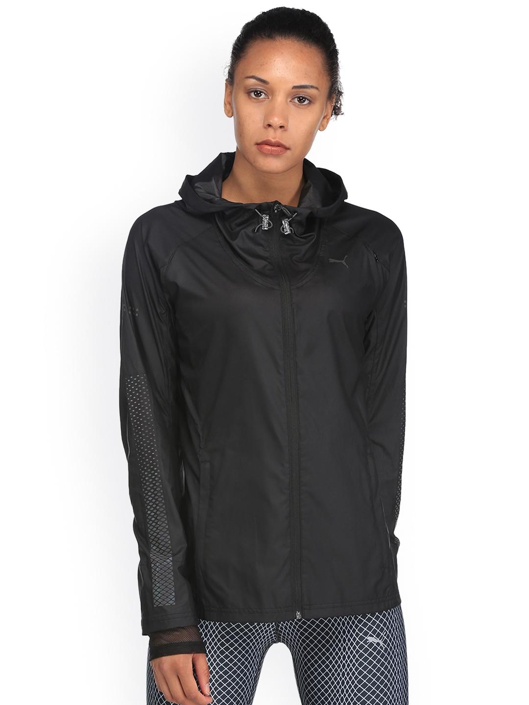 Buy Puma Women Black NightCat Sporty Jacket - Jackets for Women ... 6d127047dd60