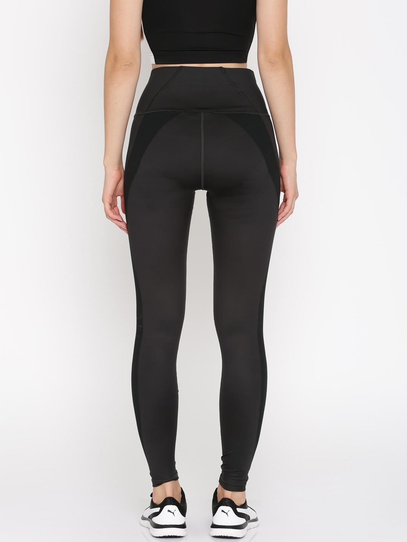4b7e60a759838 Buy Puma Women Black PWRSHAPE Tights - Tights for Women 2060368 | Myntra