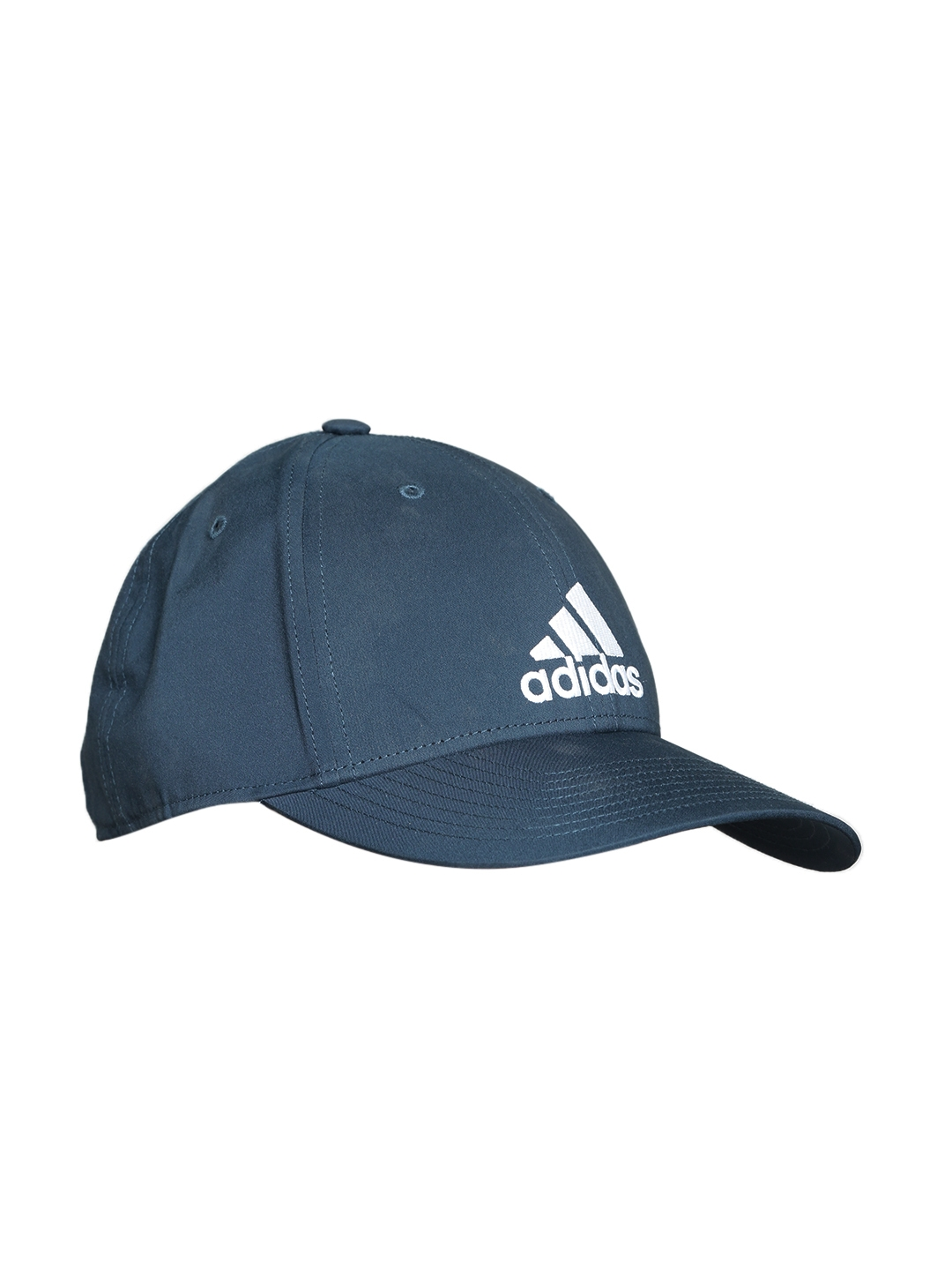 Buy ADIDAS Unisex Navy 6 Panel LightWeight Solid Cap - Caps for ... 60be0e209e8