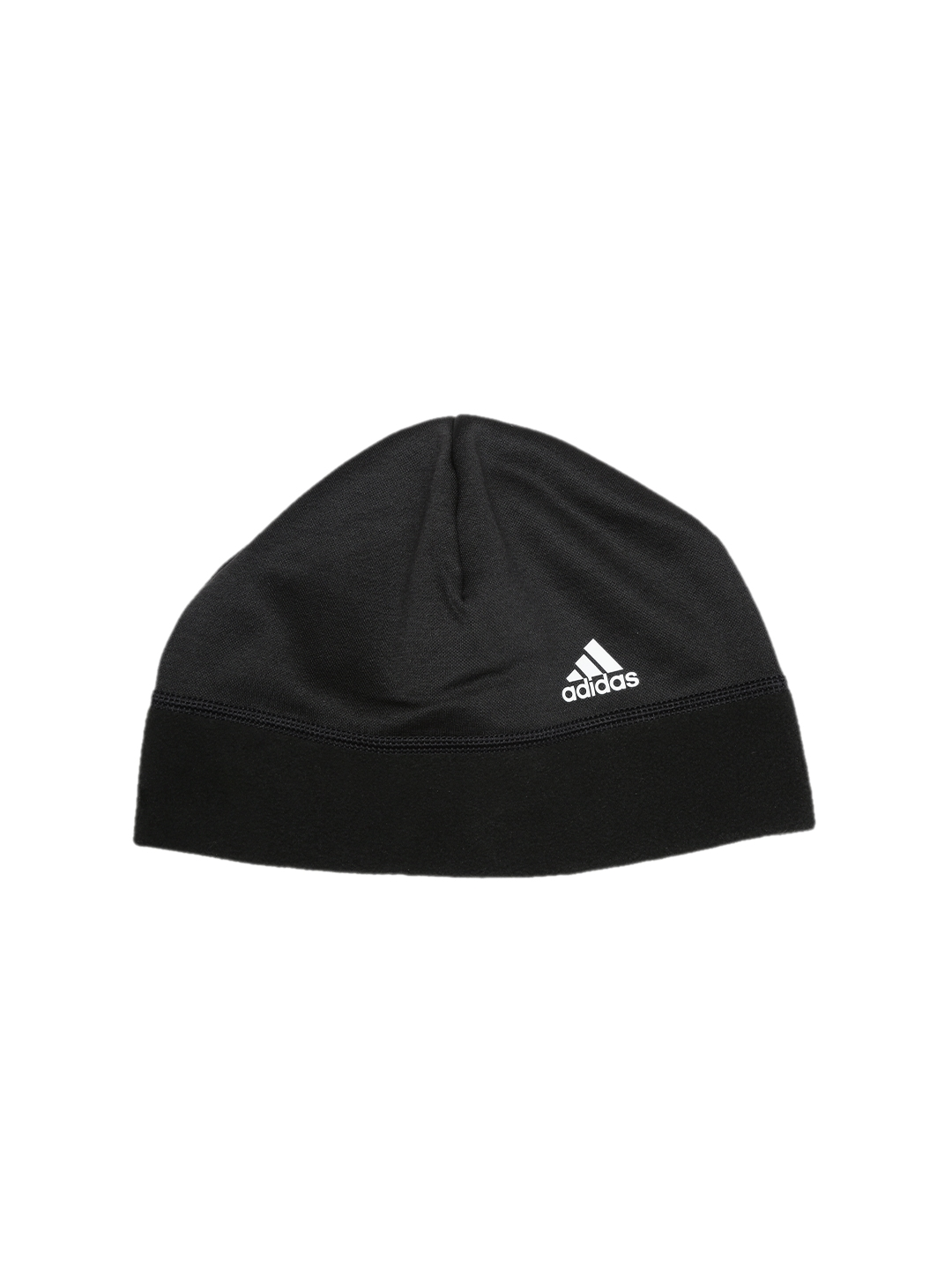 6e76d96c188 Buy ADIDAS Unisex Black ClimaWarm Fleece Solid Beanie - Caps for ...