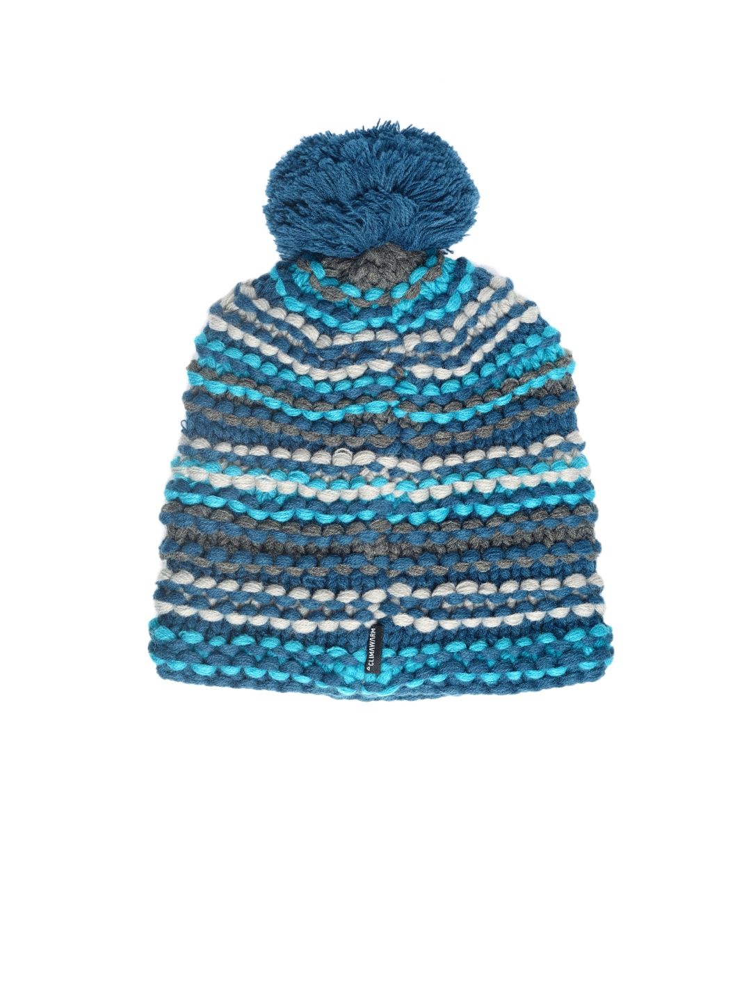 Buy Adidas Girls Blue YA Chunky Knit Beanie - Caps for Girls 2061204 ... aafa925fbf