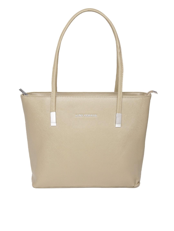 306dabcde0a Buy Lino Perros Beige Solid Shoulder Bag - Handbags for Women ...