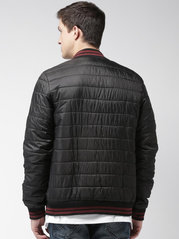 05be5b0b290 Buy Tommy Hilfiger Men Black Solid Puffer Jacket - Jackets for Men ...