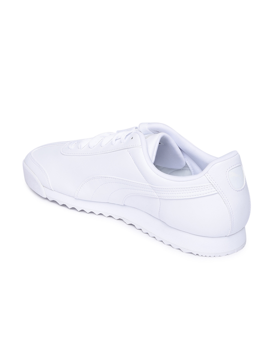 c390ce450fe2 Buy Puma Men White Roma Basic Sneakers - Casual Shoes for Men ...