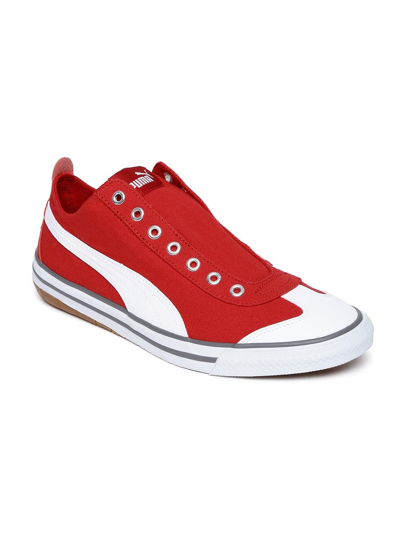 dccc0cd94da Buy Puma Unisex Red Slip On 917 Fun AC IDP Slip On Sneakers - Casual ...