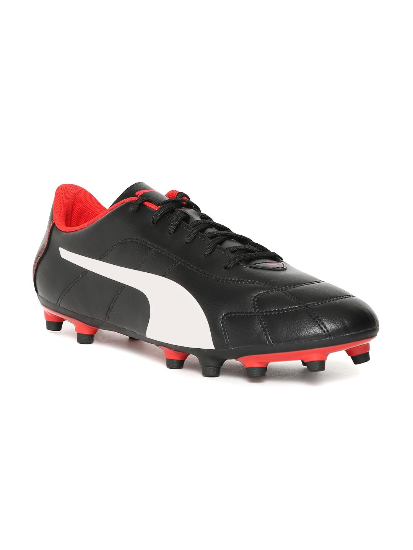 Puma Men Black Classico C Football Shoes