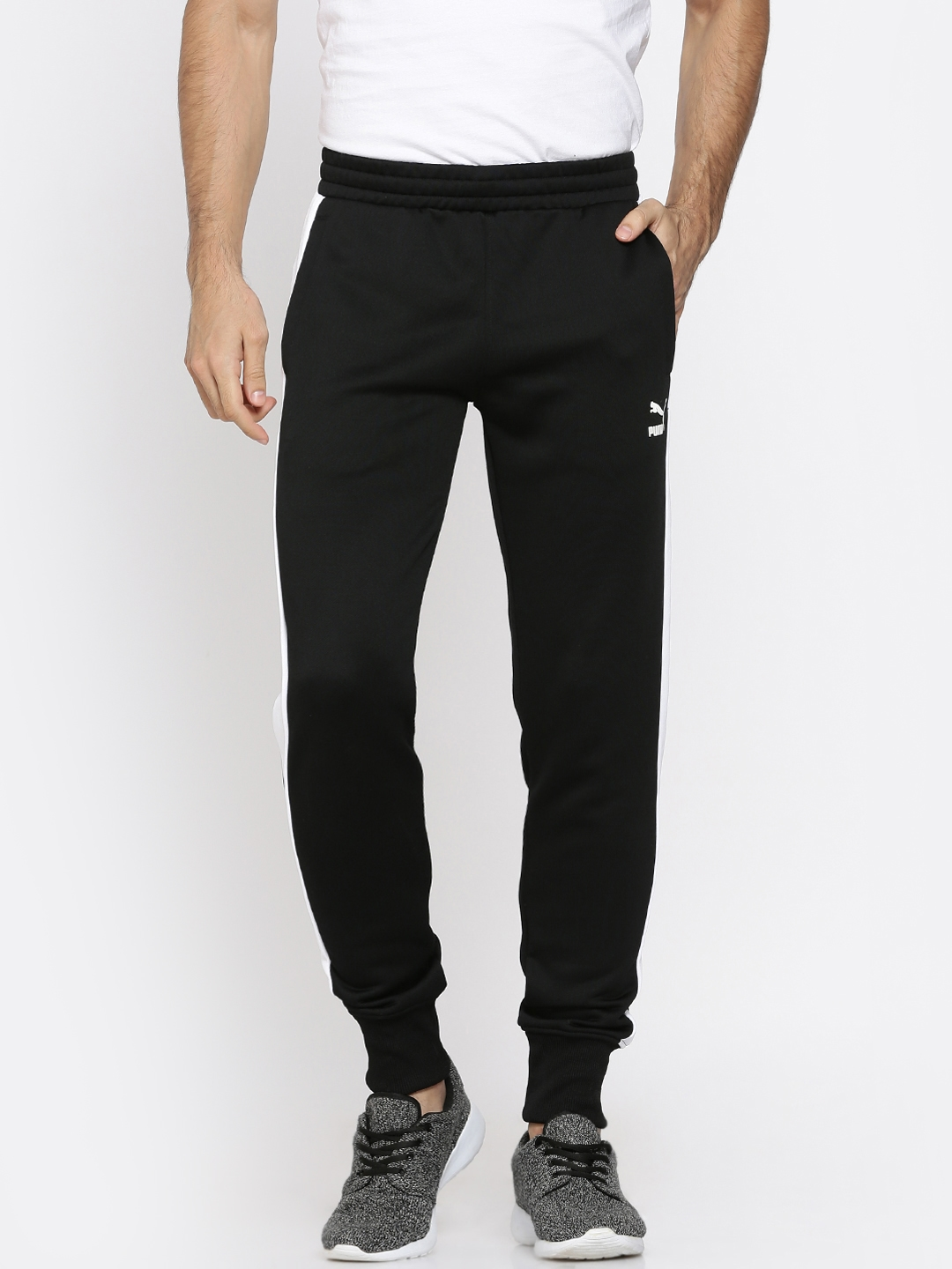 543758e2 Buy Puma Black Archive T7 Joggers - Track Pants for Men 2082665 | Myntra