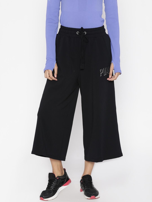 69521c440820 Buy Puma Black FUSION Culottes - Trousers for Women 2082697