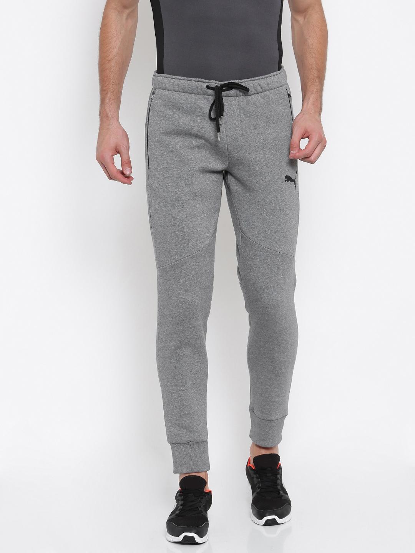 df2999070 Buy Puma Grey Active Hero Pants FL Cl Joggers - Track Pants for Men ...