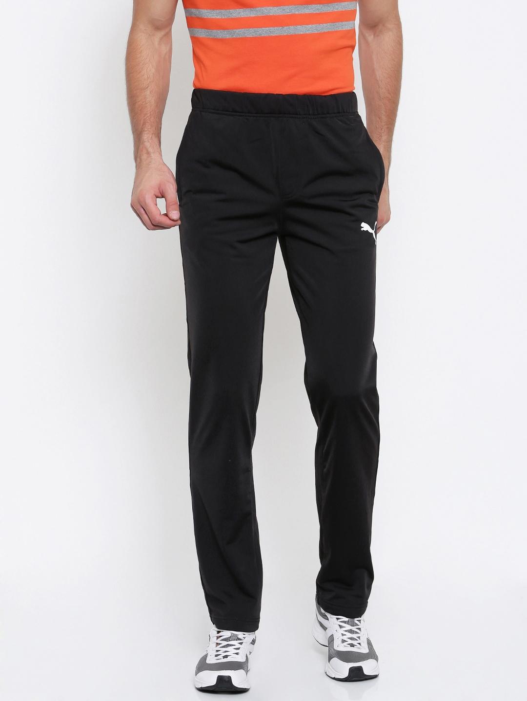 b4f841116d7d Buy Puma Black ESS Tricot Track Pants - Track Pants for Men 2082792 ...