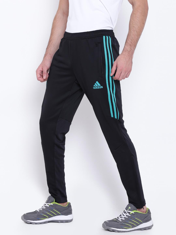 Buy ADIDAS Black Real Madrid F.C. Training Track Pants - Track Pants ... f81ae04844d