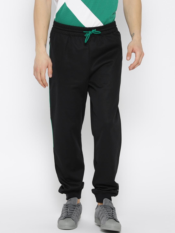 c28e328283b5 Buy ADIDAS Originals Black EQT Block Joggers - Track Pants for Men ...