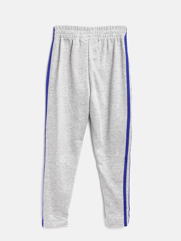 94655a0ecd3d Buy ADIDAS Boys Grey Melange 3 Stripes FT Track Pants - Track Pants ...