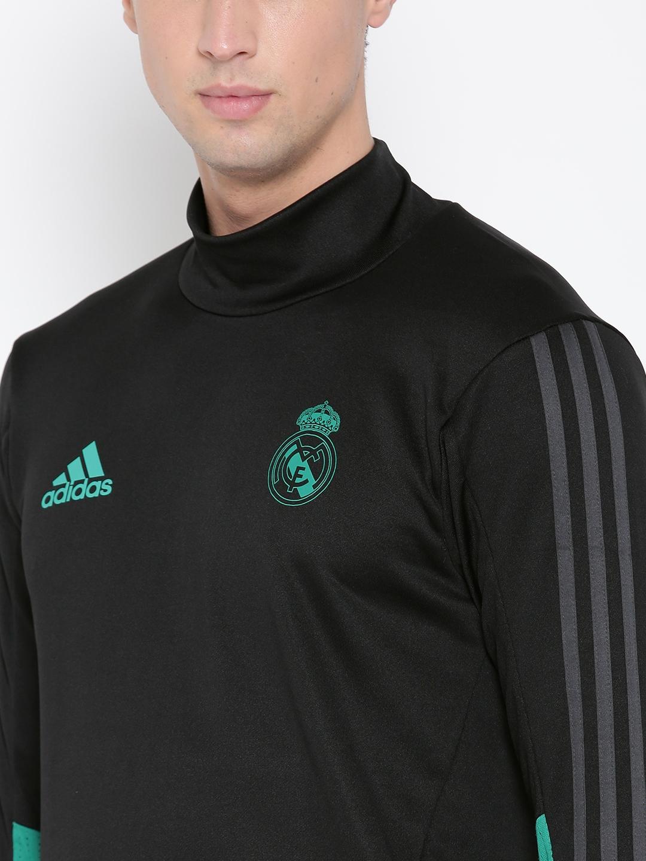 aa579801df30 Buy ADIDAS Men BlackFootball Real Madrid TRG Sweatshirt ...