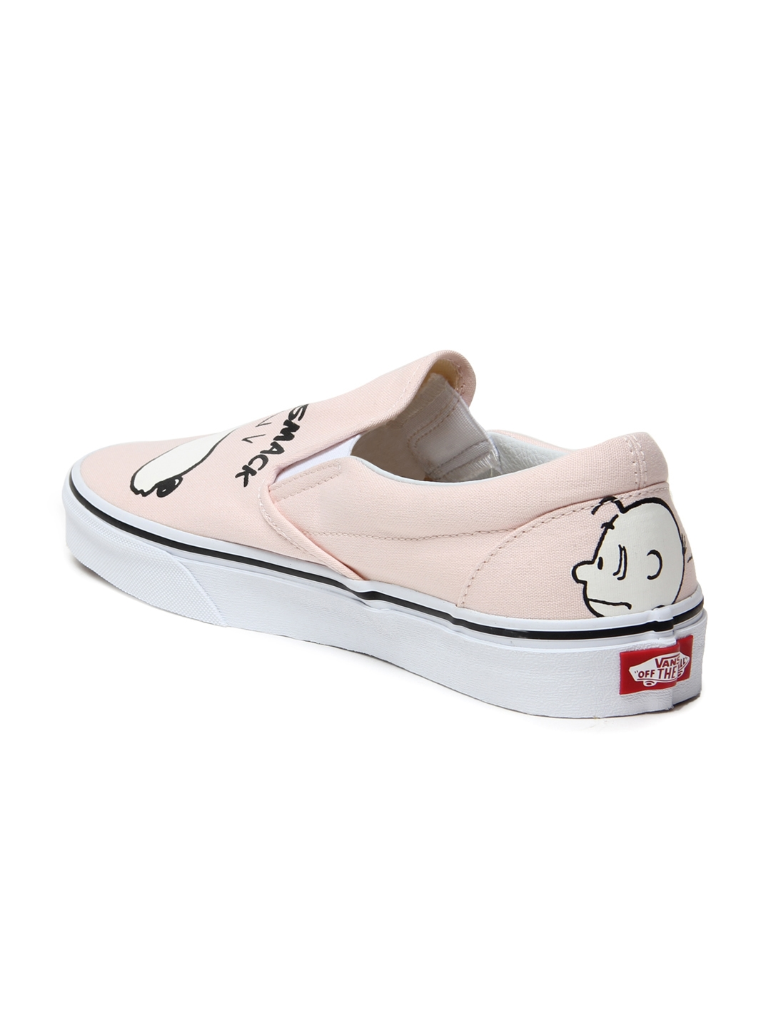 Buy Vans Unisex Pink Classic Printed Slip On Sneakers - Casual Shoes ... 3f435f6f6
