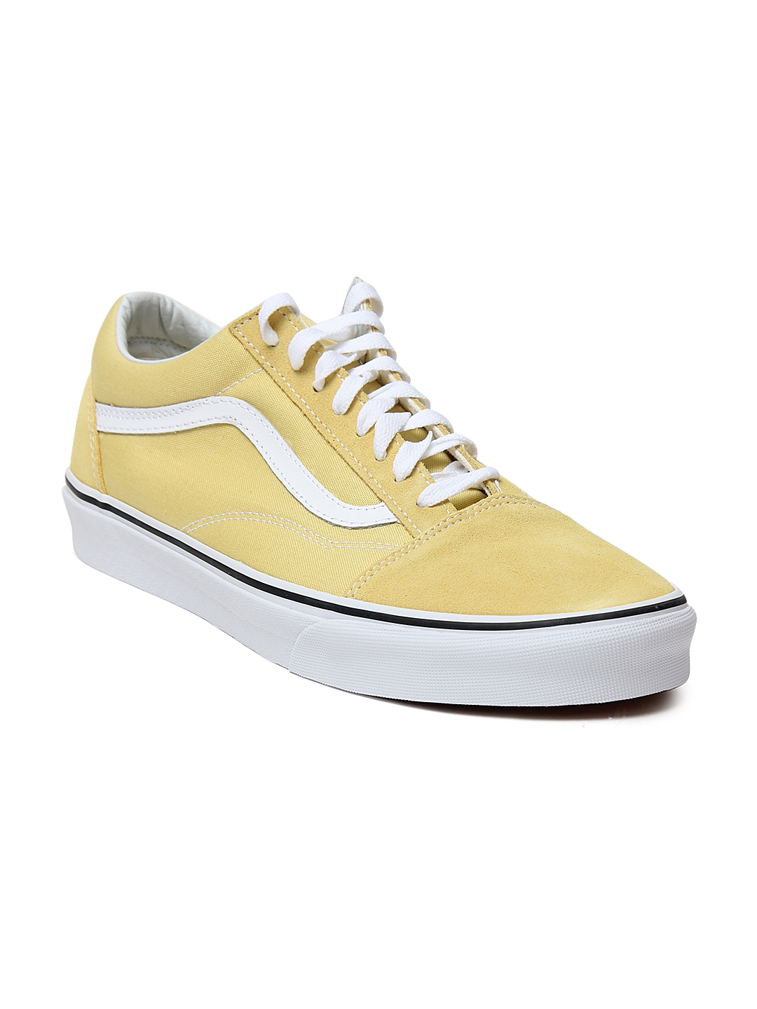 d284a198439 Buy Vans Unisex Yellow Old Skool Sneakers - Casual Shoes for Unisex ...