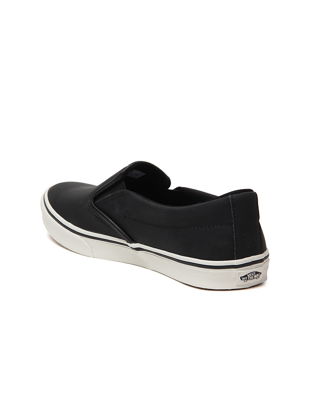 Buy Vans Women Black Slip On Asher Low Sneakers - Casual Shoes for ... 096d4cbf0