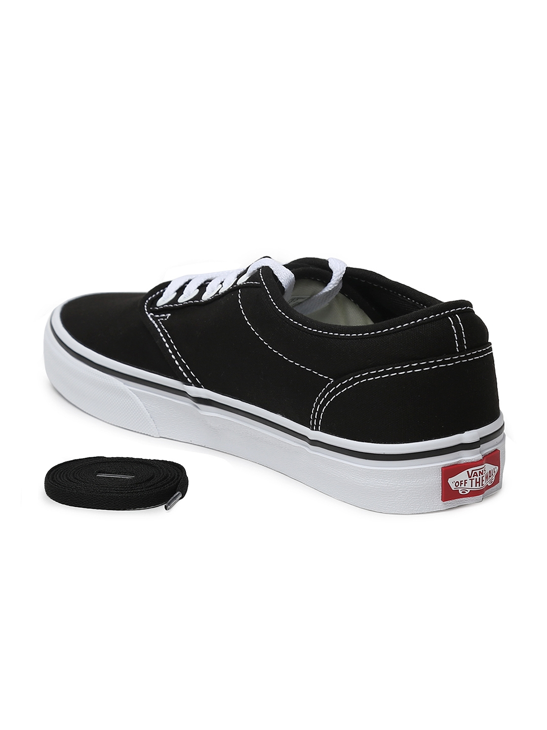 1f0d503b11ead Buy Vans Women Black Atwood Sneakers - Casual Shoes for Women ...