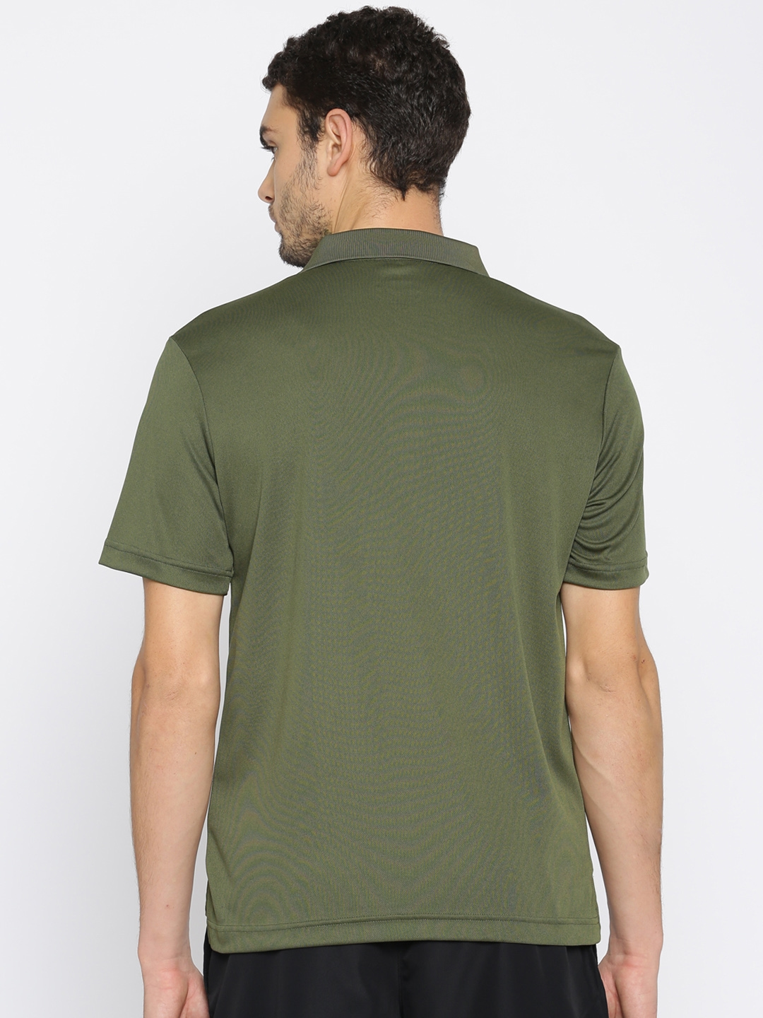 d58be47e Buy Puma Men Olive Green ACTIVE Pique Polo T Shirt - Tshirts for Men ...