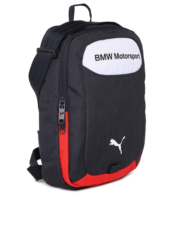 7513c6907c51 Buy Puma Unisex Navy BMW Motorsport Portable Messenger Bag ...