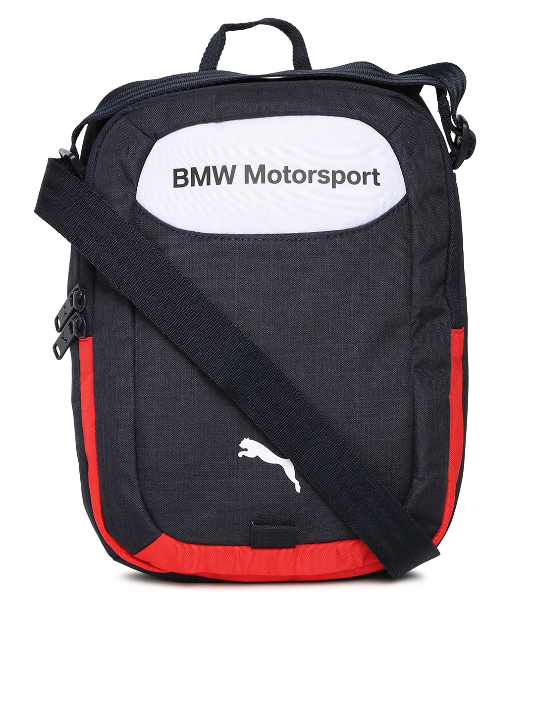 bf4e7744ca Buy Puma Unisex Navy BMW Motorsport Portable Messenger Bag ...