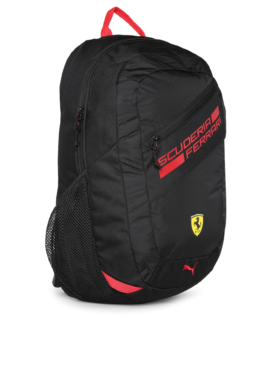 Buy Puma Unisex Black Ferrari Fanwear Backpack - Backpacks for ... 46630df3d7bd2
