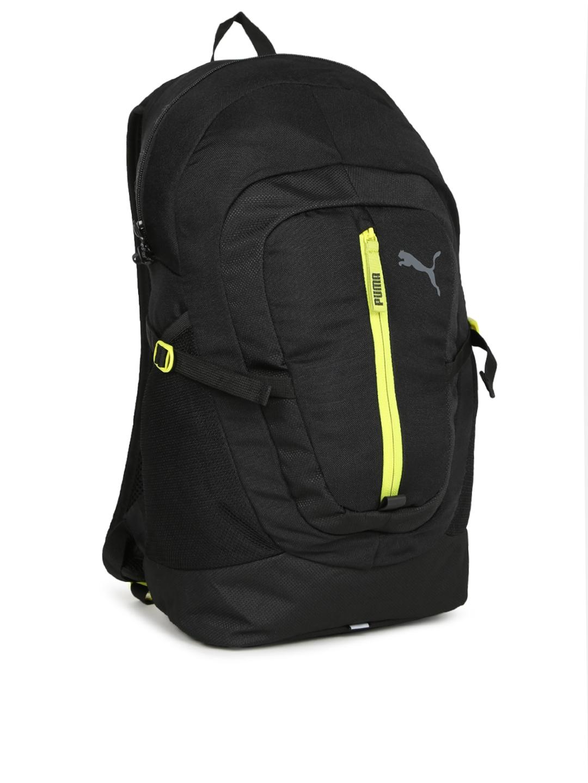 e16ef996e8 Buy Puma Unisex Black Solid Apex Pacer Backpack - Backpacks for ...