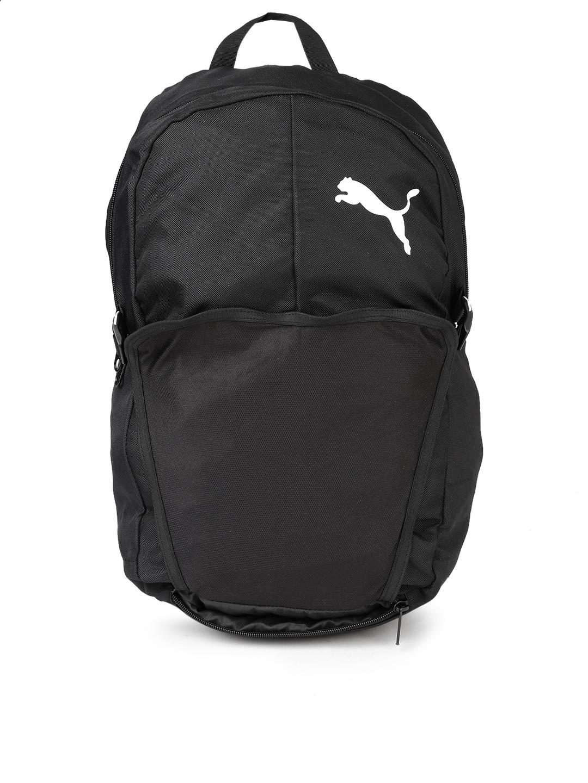 Buy Puma Unisex Black Pro Training II Backpack With Ball Net ... c3b8c53fca