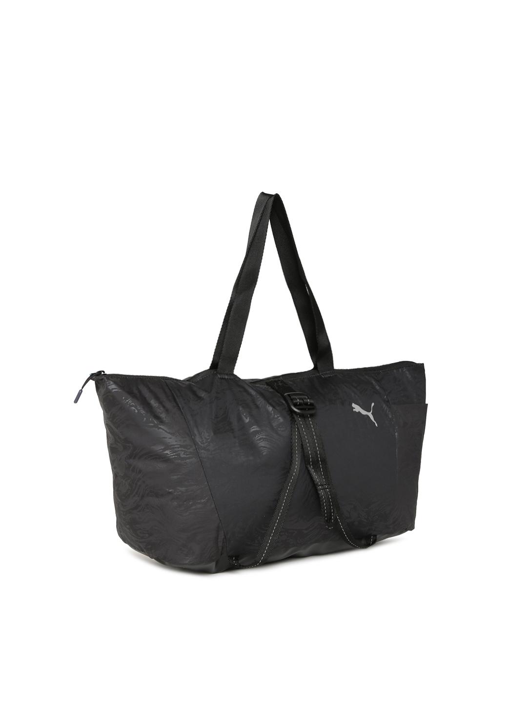 61164ec20b Buy Puma Black Solid Fit AT Sports Shoulder Bag - Handbags for Women ...