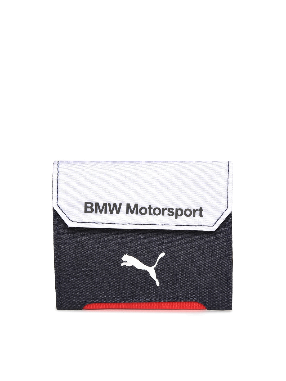 3c3e923996 Buy Puma Unisex Navy Blue   White BMW Motorsport Two Fold Wallet - Wallets  for Unisex 2088636