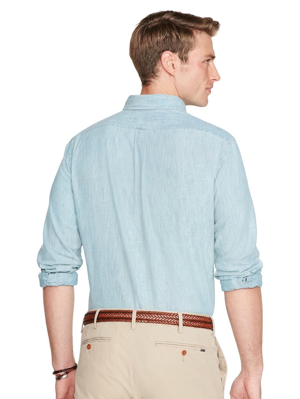 ccd4205d Buy Polo Ralph Lauren Chambray Sport Shirt - Shirts for Men 2092718 ...